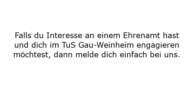 Ehrenamt Text